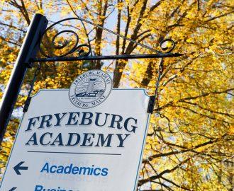 Fryeburg Academy High School boarding USA